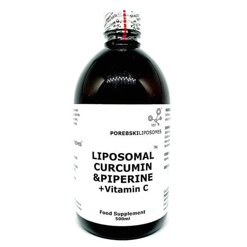Liposomal Curcumin and Piperine with Vitamin C