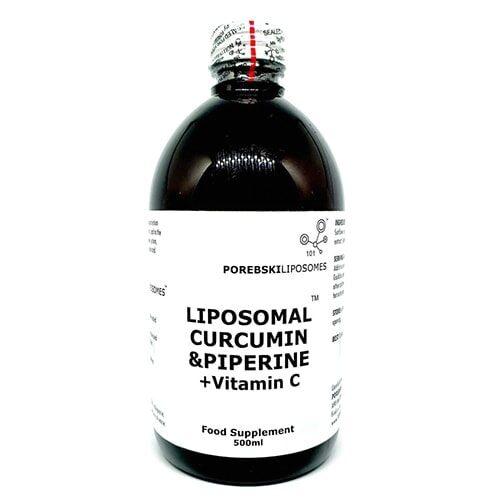 Liposomal Curcumin and Piperine with Vitamin C
