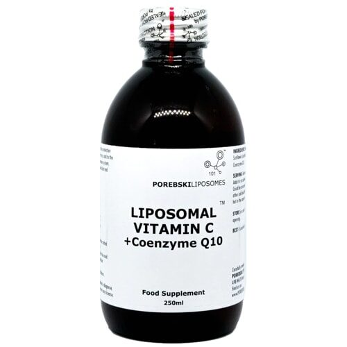 Liposomal Vitamin C + Coenzyme Q10 (bottle)