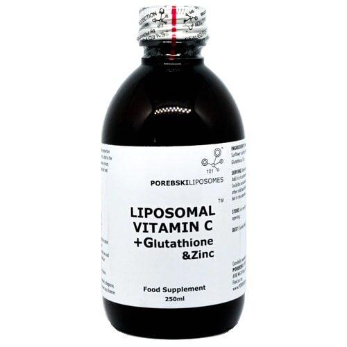 Liposomal Vitamin C + Glutathione & Zinc