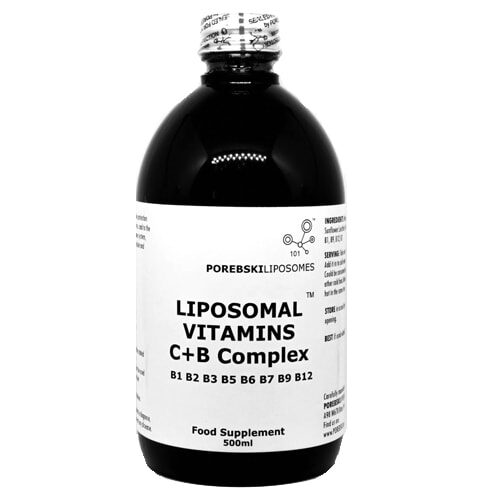Liposomal Vitamins C + B complex (bottle)