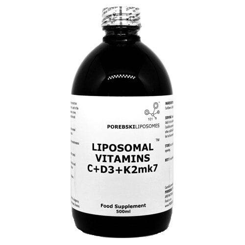 Liposomal Vitamins C + D3 + K2-mk7 (bottle)